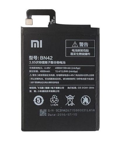เปลี่ยนแบตเตอรี่ Xiaomi Redmi 4 (BN42) แบตเสื่อม แบตเสีย แบตบวม รับประกัน 3 เดือน