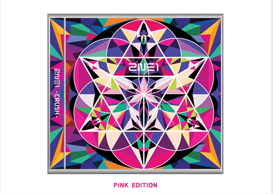 2NE1-2ND ALBUM CRUSH - PINK DEITION