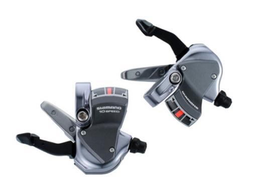 มือเกียร์สำหรับใส่แฮนด์ตรง รุ่น SL-R780, สีเงิน หรือสีดำ, R/L, 10-Speed (รุ่นจาน 2 ชั้น)