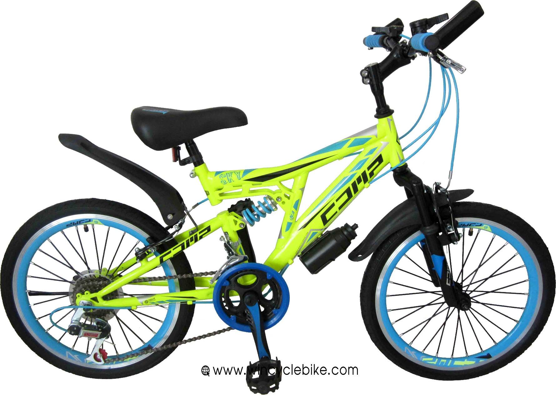จักรยานเด็ก COMP SKY ล้อ 20 นิ้ว 12 สปีด เหล็ก