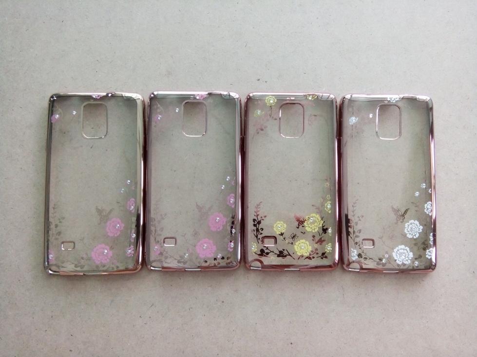เคส Samsung Note 4 รุ่น เคสนิ่ม TPU ลายดอกไม้