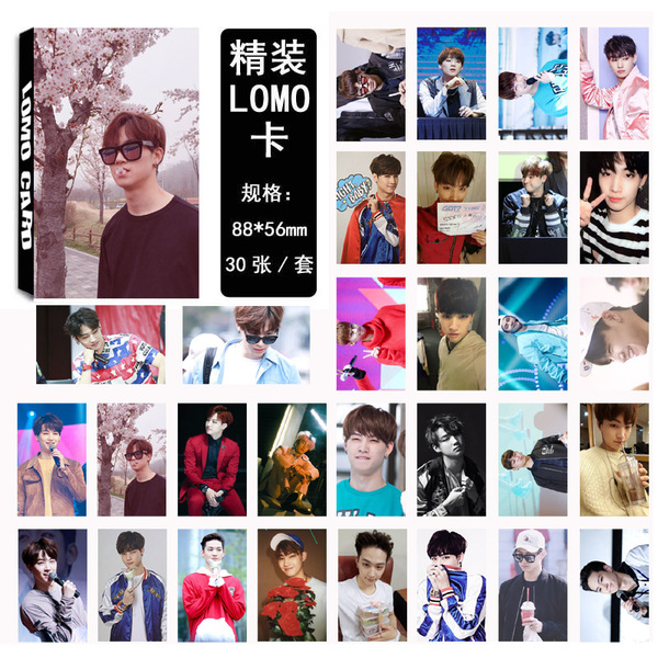 รูป GOT7 FLY Jaebum JB LOMO 30