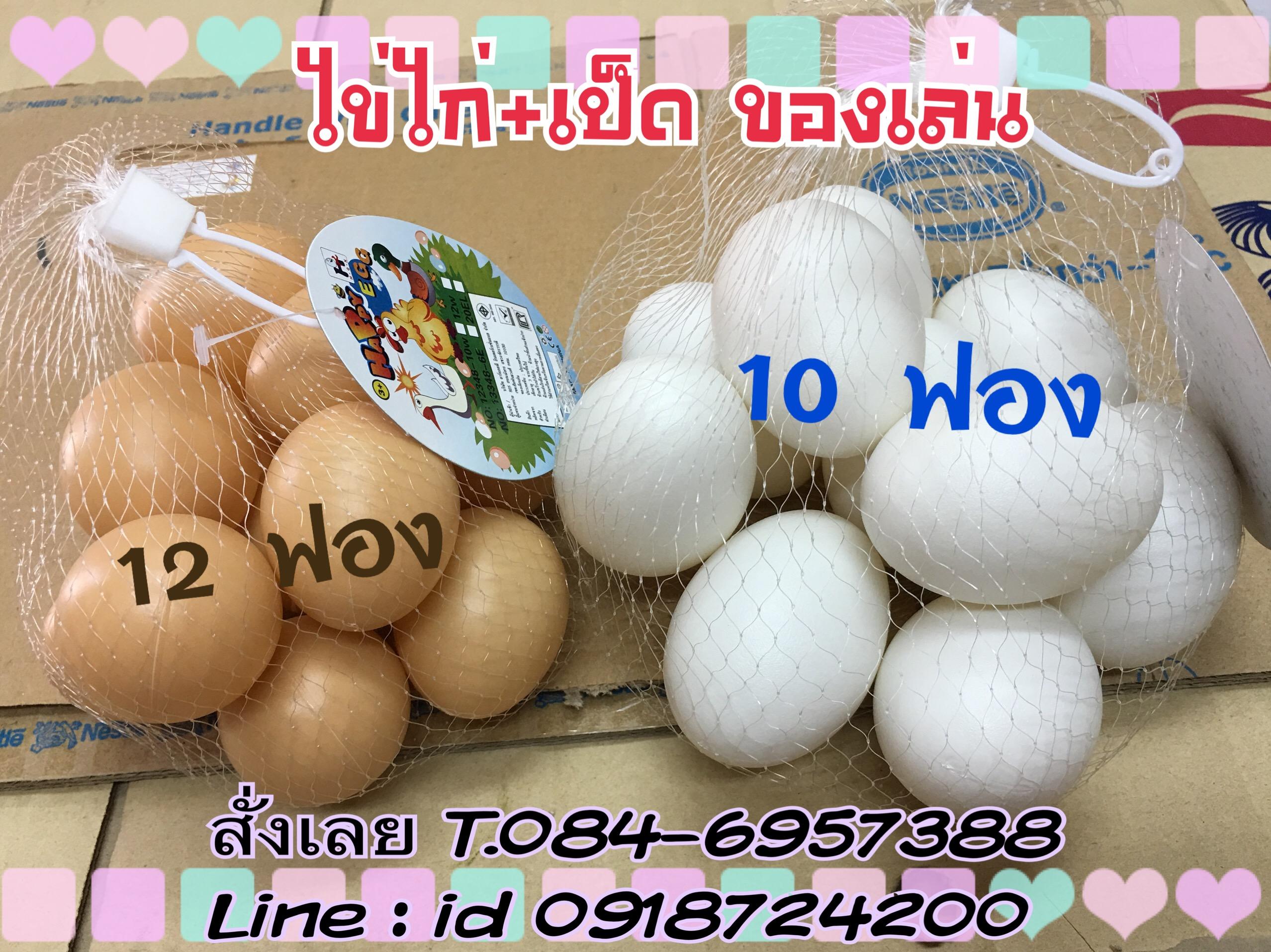 ชุดไข่ไก่+ไข่เป็ด เพื่อการศึกษา ชุดไข่เพื่อการเรียนรู้ของเด็ก ๆ