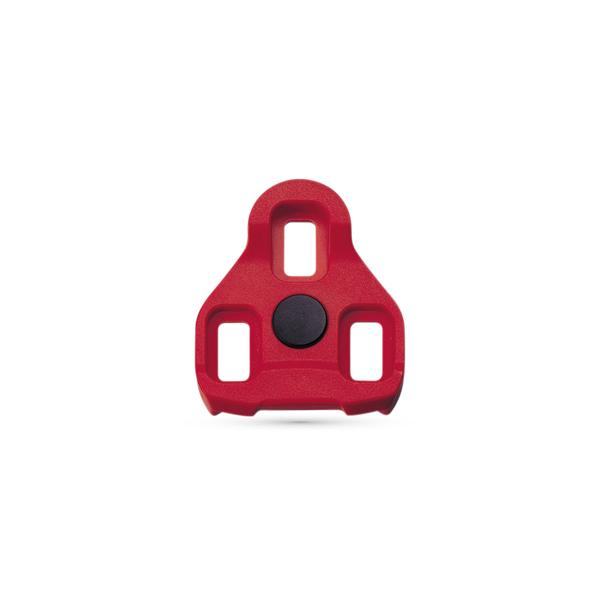คลีทหมอบ EXUSTAR ,E-ARC10 สีแดง For EPS-R LOOK,KEO STYLE