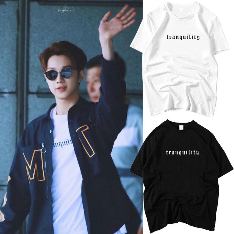 เสื้อยืด (T-Shirt) Tranquility แบบ Guan Lin WANNA ONE