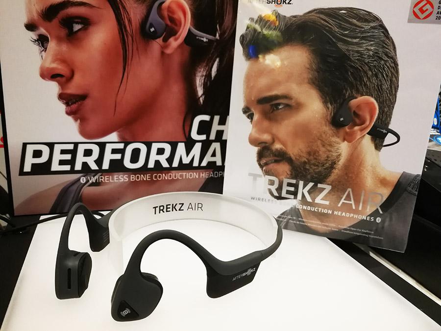 Aftershokz Trekz Air รุ่นท๊อป หูฟังออกกำลังกาย ไร้สาย ระบบ Bone conduction เบาสบาย เสียงเทพ ได้ยินเสียงรอบข้างและปลอดภัย