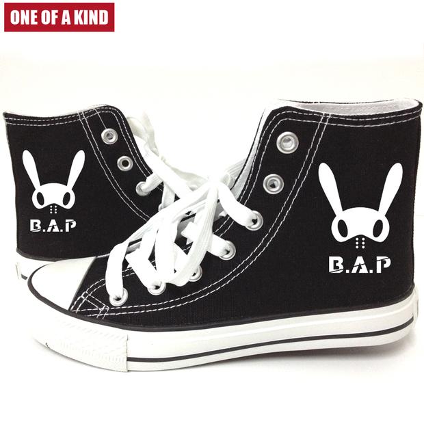 รองเท้าผ้าใบหุ้มข้อ B.A.P