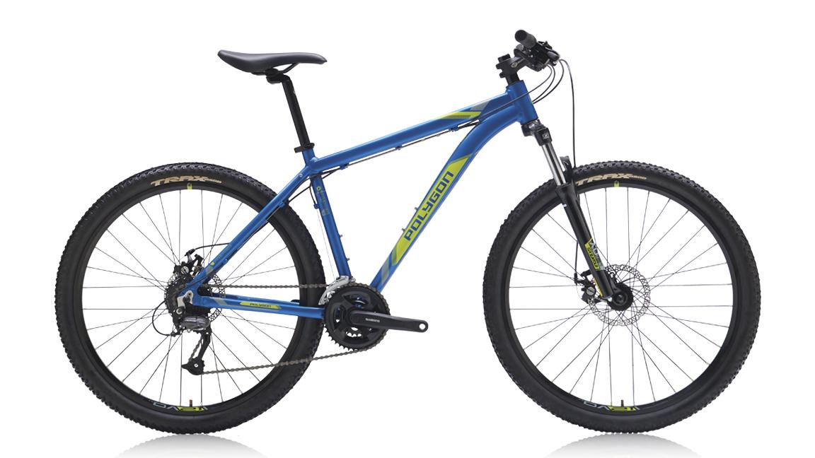 จักรยานเสือภูเขา POLYGON PREMIER 3.0 24 สปีด เฟรมอลู ล้อ 27.5 (เคลียร์สต็อค)