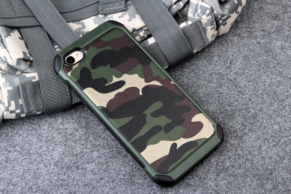 เคสกันกระแทกสองชั้นลายทหาร OPPO A77(ใช้ภาพรุ่นอื่นแทน)
