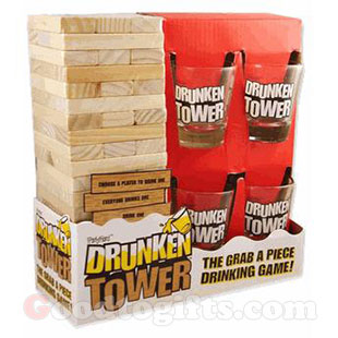 เกมดึงไม้แก้วช็อต Drunken Tower