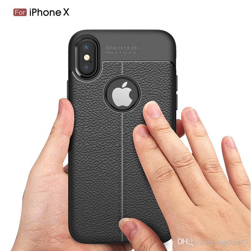 เคส Iphone Xลายหนัง auto focus