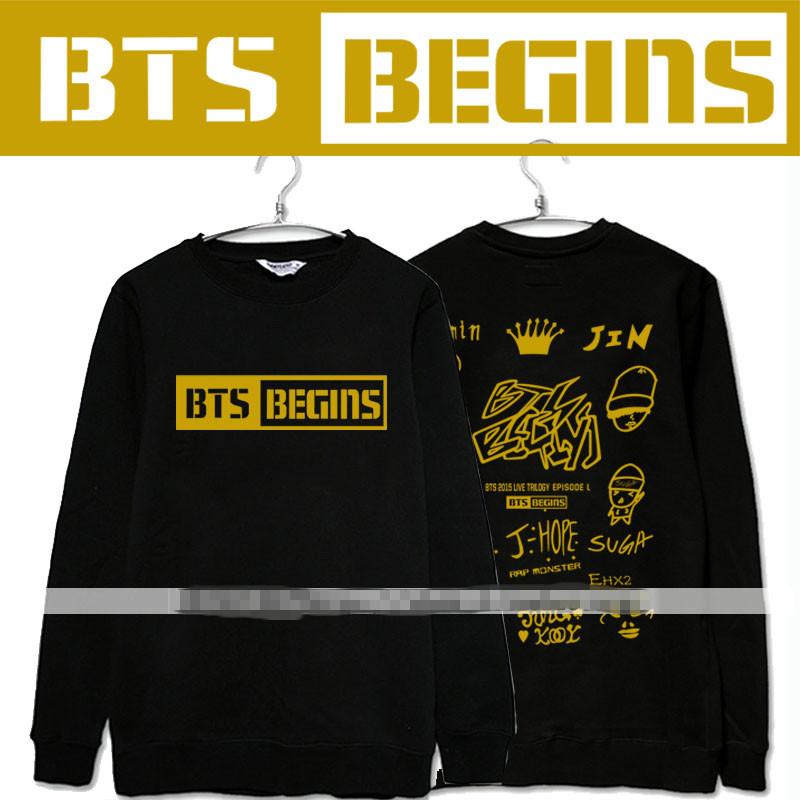 เสื้อแขนยาวกันหนาว BTS - BEGINS