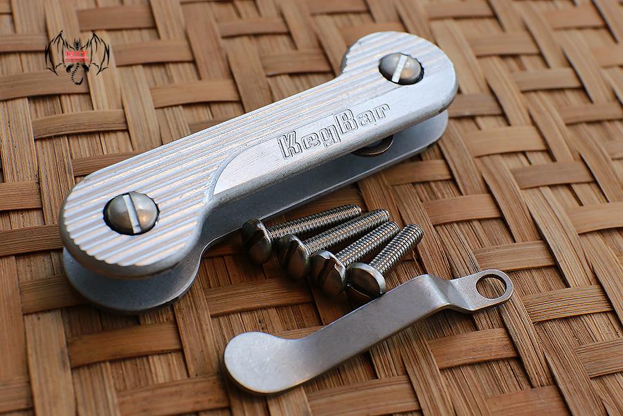 Key Bar Bel Air Aluminum CNC Milled