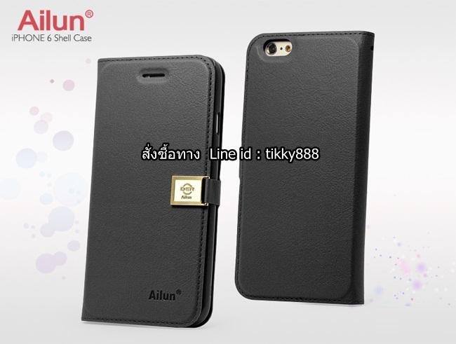 เคสฝาพับ iPhone 6/6s แบรนด์ Ailun สีดำ