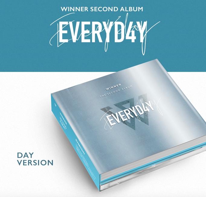 อัลบั้ม #WINNER - 2 [EVERYD4Y] DAY VER.