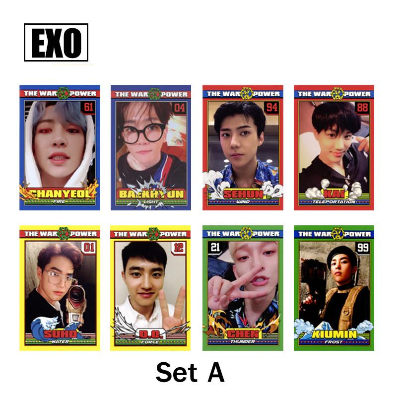 การ์ดเซต EXO - The Power of Music (แฟนเมด)