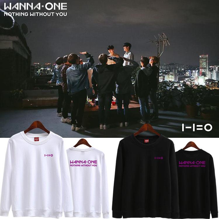 เสื้อแขนยาว (Sweater) WANNA ONE - Nothing Without You