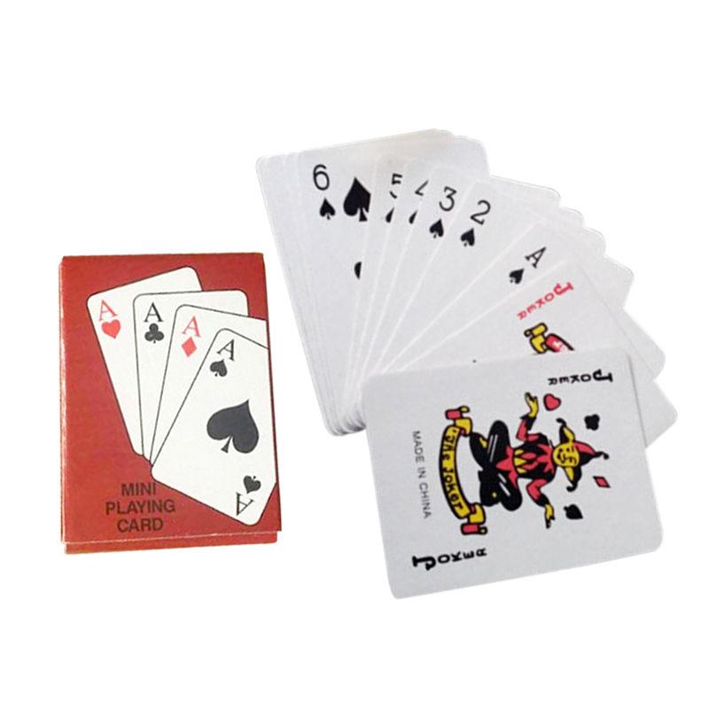 ไพ่ขนาดเล็ก Mini Playing Card สำหรับการเล่นเกมส์ ขนาดพกพา