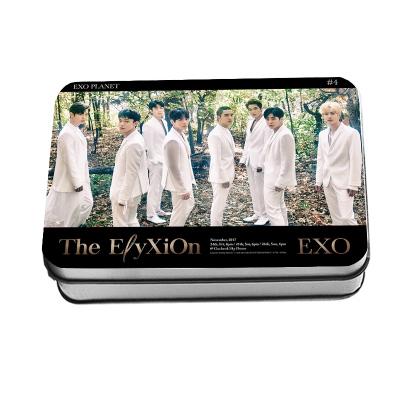 ชุดรูปพร้อมกล่องเหล็ก #EXO 2017 PLANET # 4 THE EXO'rDIUM 4