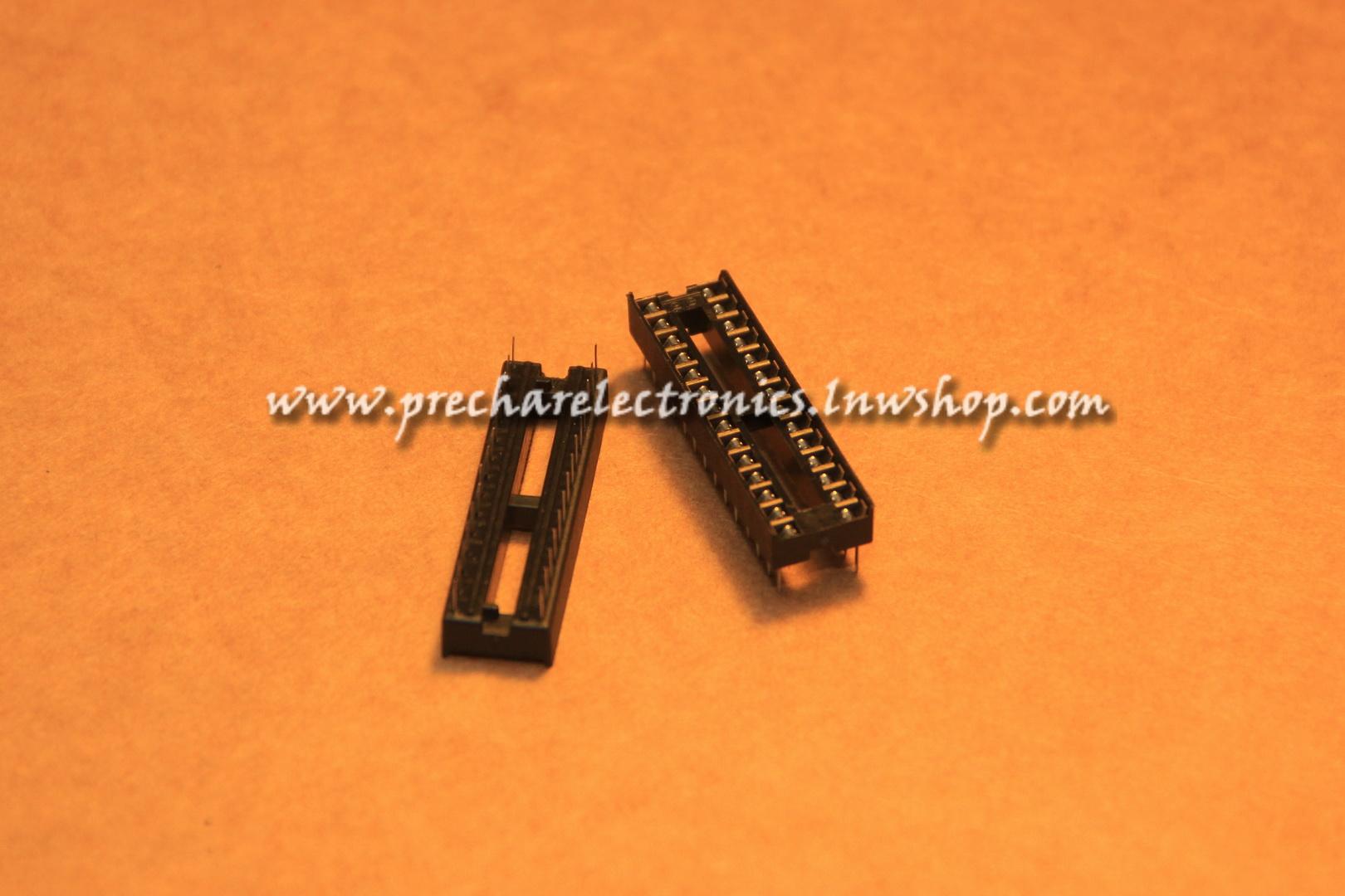 Socket IC 28 ขา (ขาแคบธรรมดา)