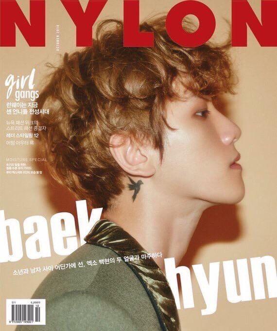 NYLON 2016.10 (EXO : BAEK HYUN)