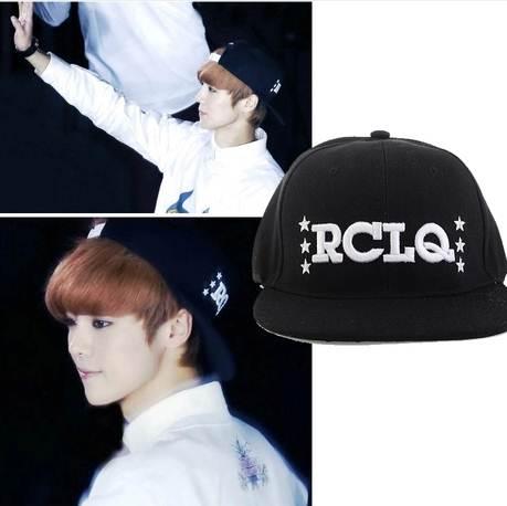 หมวกแฟชั่น EXO LUHAN RCLQ สีดำ