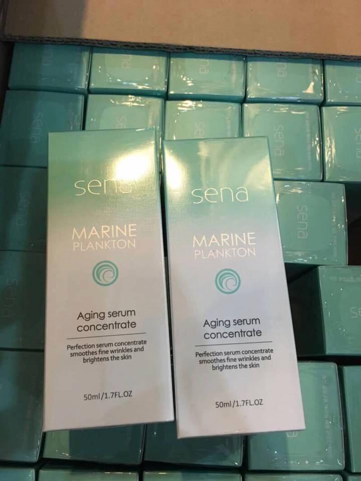 Sena marine plankton aging serum concentrate เซรั่มเซน่า