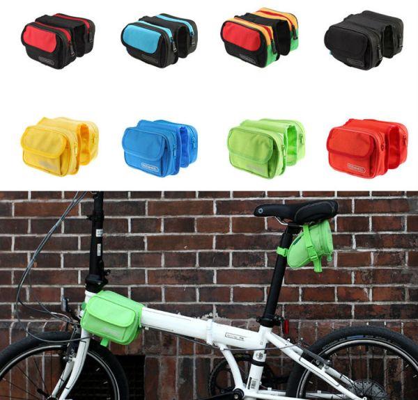 !!!SALE!!!กระเป๋าคาดเฟรม roswheel 12655 (มีสีฟ้า,เหลือง,แดง,เขียวเหลืองแดง)