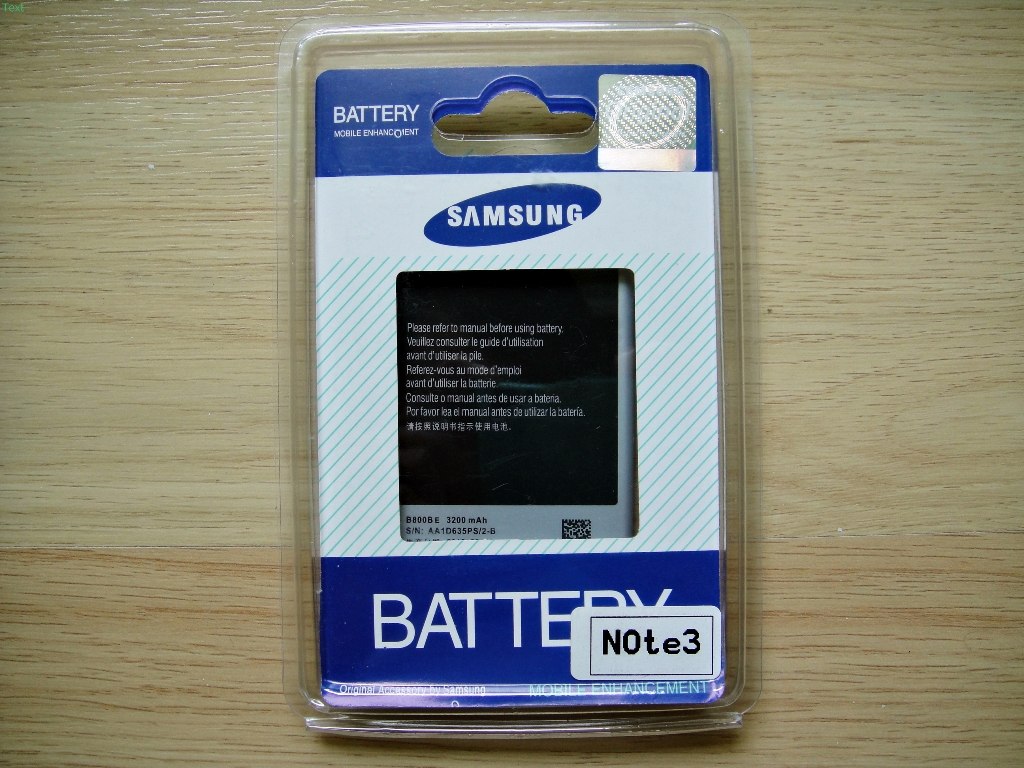 Battery for Galaxy Note 3 N9000 3200 mAh