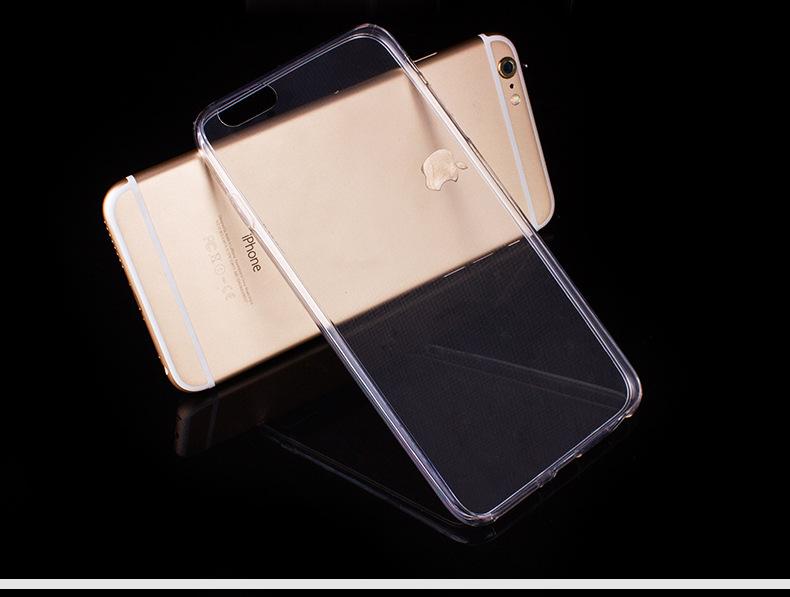 เคสยางใส slim 0.3ไอโฟน 6/6s 4.7 นิ้ว