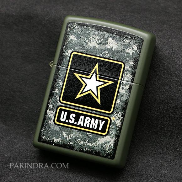 ไฟแช็ค Zippo แท้ 28631, United States Army, แท้นำเข้า 100%