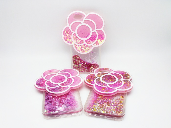 เคสตู้กากเพชรดอกไม้ใหญ่ ไอโฟน 6/6s 4.7 นิ้ว
