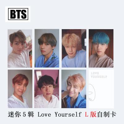 ชุดการ์ด #BTS 2017 Love Yourself Ver.L