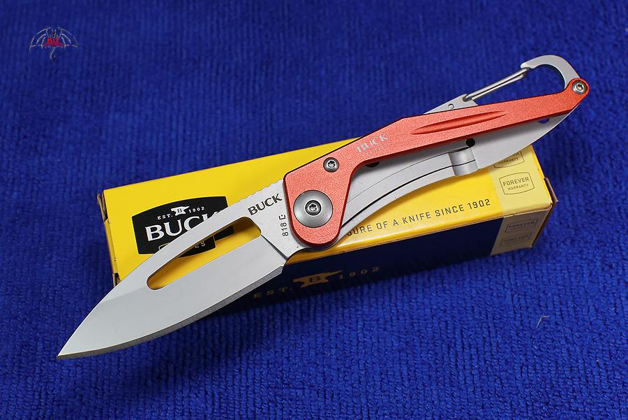 Buck Apex Orange Aluminum Handles 818ORS