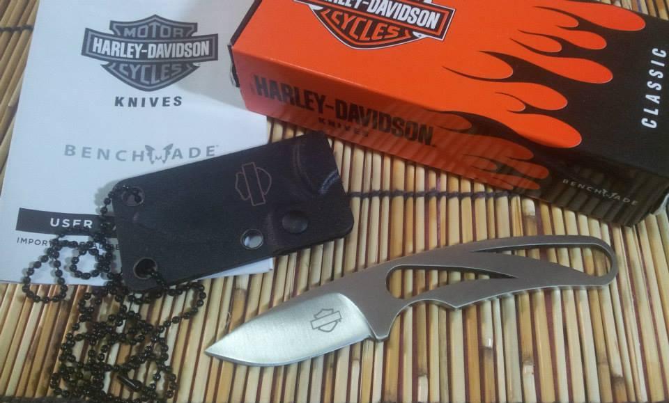 มีดห้อยคอ Harley-Davidson [Silver] by Benchmade (OEM)