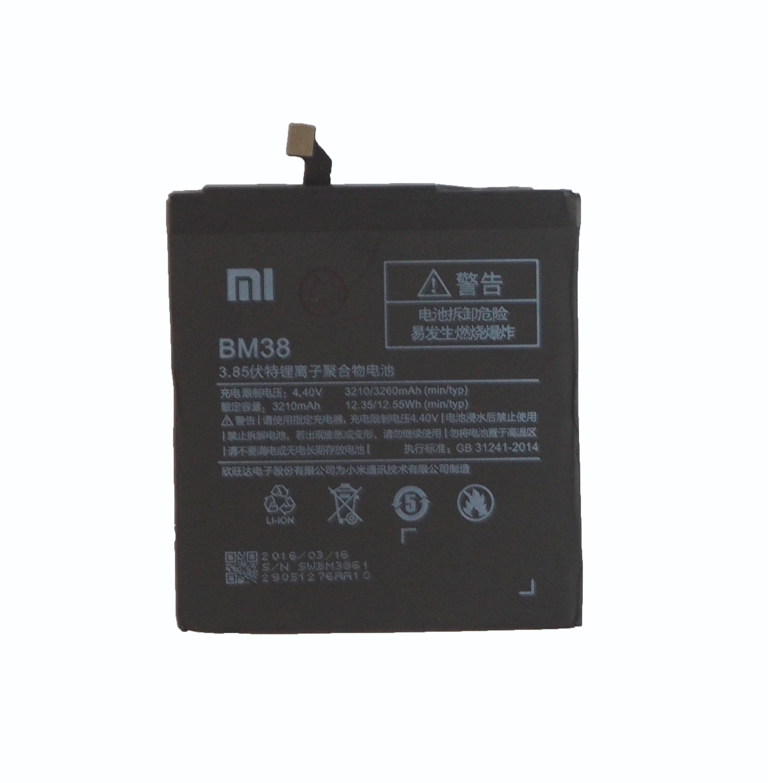 เปลี่ยนแบตเตอรี่ Xiaomi Mi 4S (BM38) แบตเสื่อม แบตเสีย แบตบวม รับประกัน 3 เดือน