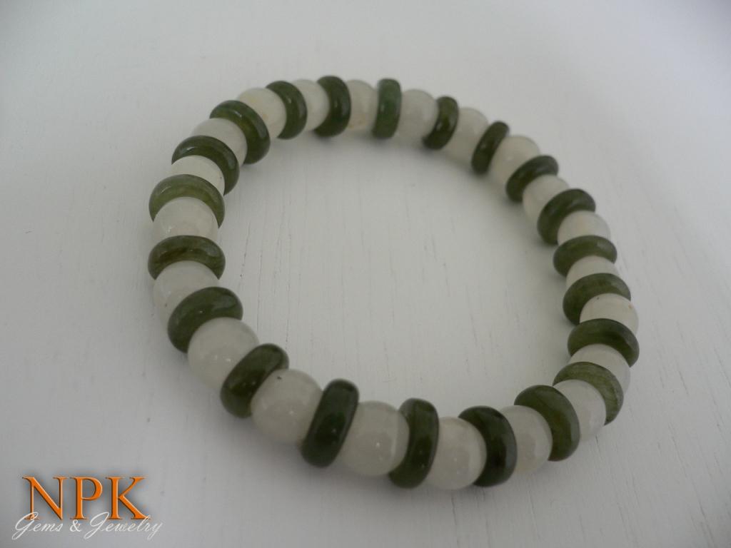 กำไลหยกขาว(Burma jade bracelet)