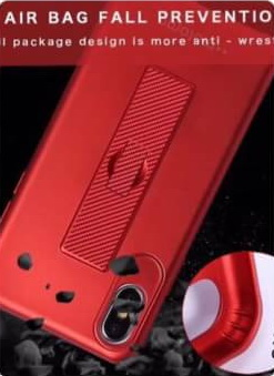 Vivo V7Plus เคส tpu เนื้อกำมะหยี่สอดนิ้วตั้งได้ new Motomo
