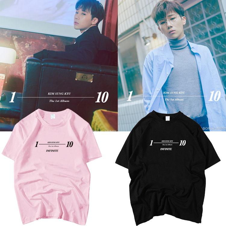 เสื้อยืด (T-Shirt) Kim Sung Kyu - 10 Stories