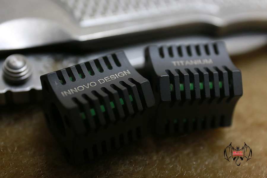 Innovo Tetra Bead (Black DLC w/ Green)