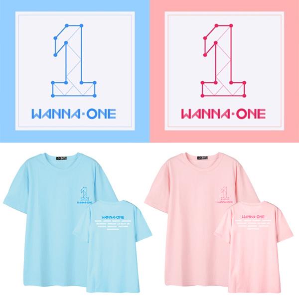 เสื้อยืด เสื้อแฟชั่นไอดอล #Wanna One (ระบุไซส์ที่ช่องหมายเหตุ)