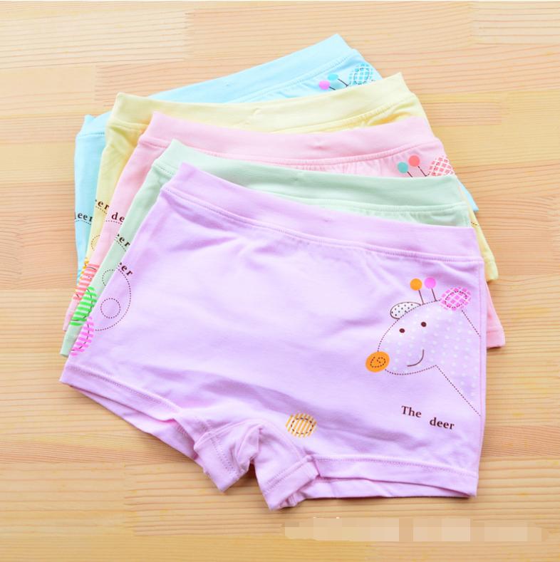 กางเกงในเด็ก คละสี แพ็ค 20 ตัว ไซส์ XL อายุ 5-7 ปี
