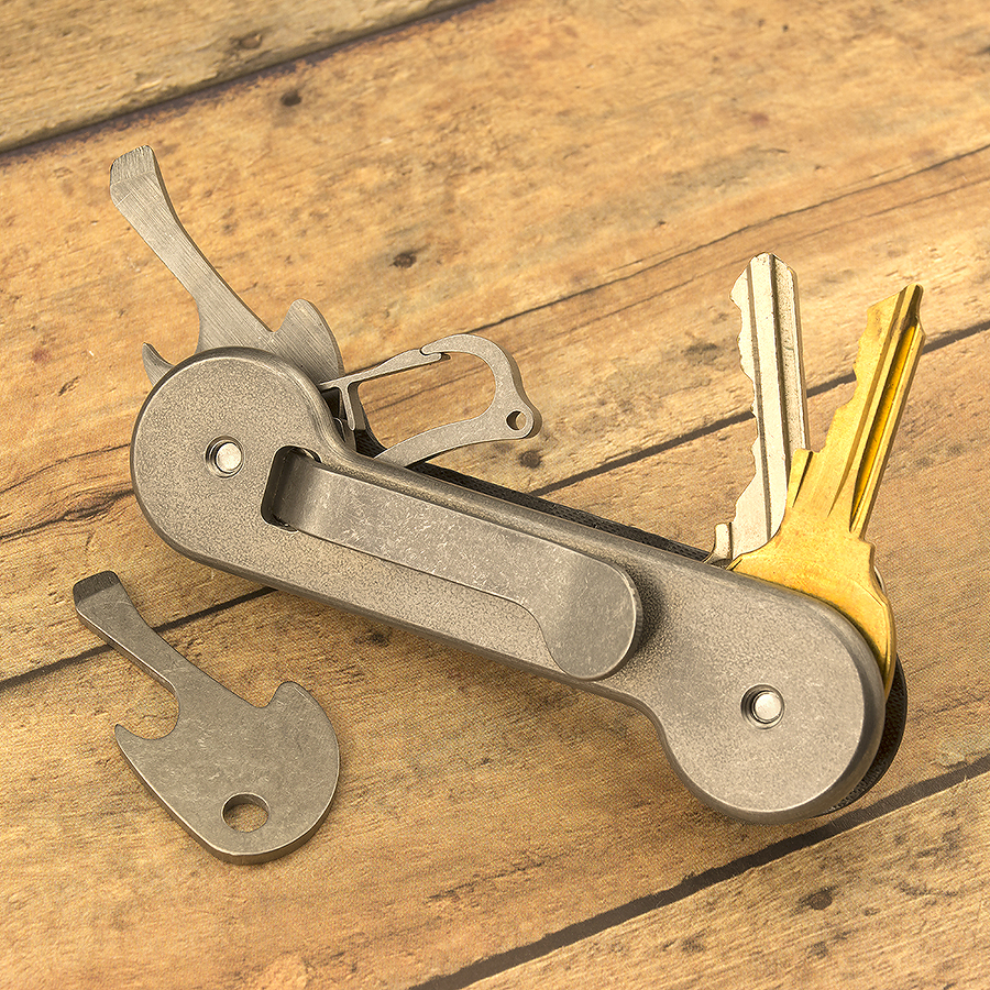 KeyBar Bottle Opener & Flathead Screwdriver