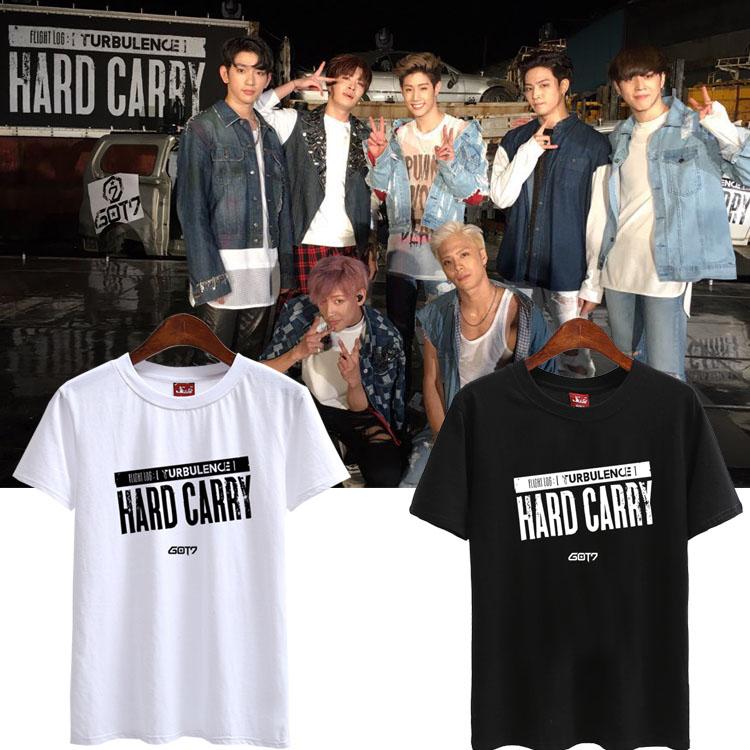 เสื้อยืด (T-Shirt) GOT7 - Hard Carry