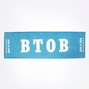 ผ้าเชียร์ BTOB OFFICIAL SLOGAN Ver.2 (สีฟ้า)