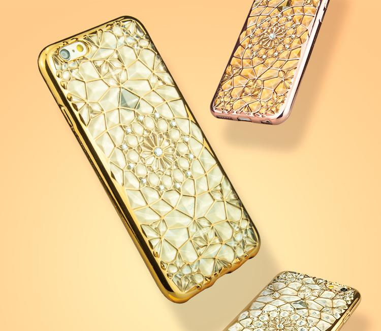 เคสขอบโครเมียม ลาย3d Iphone 7 4.7 นิ้ว
