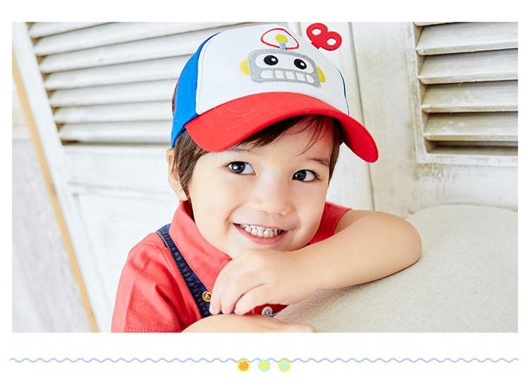 หมวกโรบอทสีแดง แพ็ค 3 ชิ้น