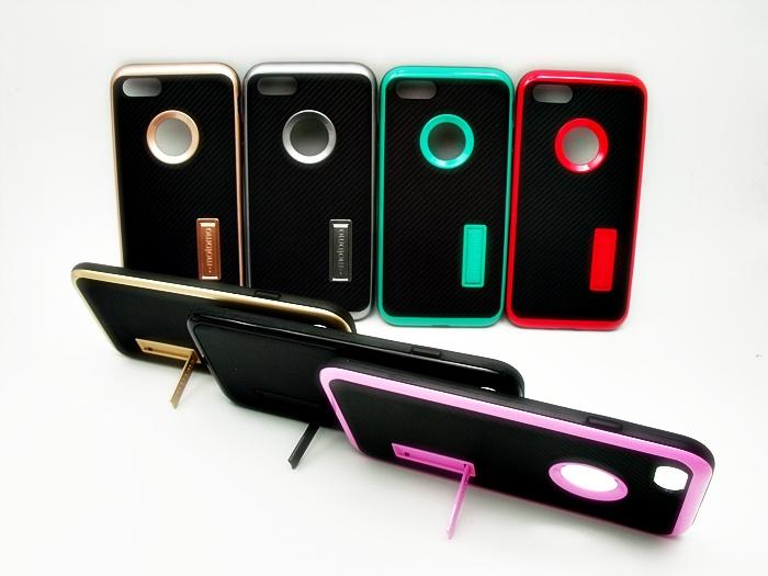 เคส Motomo นิ่มลายเคฟล่า ตั้งได้ ไอโฟน 7 4.7 นิ้ว