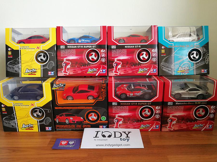 รถบังคับตราเพชร Collection Supercar Series ขนาด 1:28 มีรถให้เลือกหลายรุ่น Evo Gtr Benz รถลิขสิทธิ์ของแท้จากแบรน Auldey