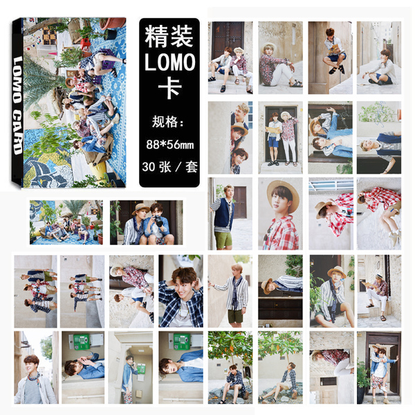 ชุดรูป LOMO #BTS Summer package